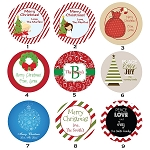 Gift Tag Stickers and Address Labels