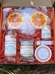 Hello Sunshine Orange Bath and Body Gift Box Set