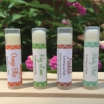All Natural Lip Balm - 4 flavors