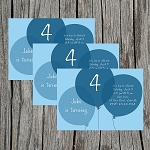 Blue Balloon Custom Birthday Invitations