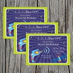 Outer Space 2 Custom Birthday Invitations