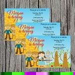 The Wizard 3 Custom Birthday Invitations
