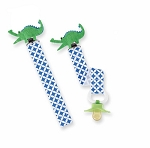 Alligator Pacifier Clips