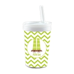 Green PJ's Built in Straw Tumbler