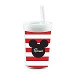 Mickey Built in Straw Tumbler