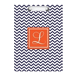 Blue Chevron Double Sided Clipboard