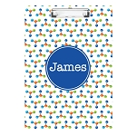 Nucleus with Blue Personalized Double Sided Hardboard Clipboard