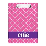 Girlie Pink Double Sided Clipboard