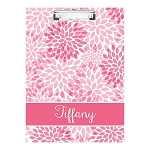 Pink Floral Double Sided Clipboard