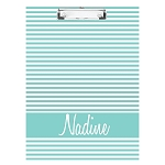 Elegant Striped Double Sided Clipboard