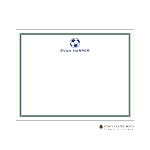 Soccer Custom Thank You Card by Stacy Claire Boyd