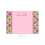Bright Floral 2 Custom Thank You Card by Take Note Designs