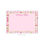 Girlie Custom Thank You Card by Take Note Designs