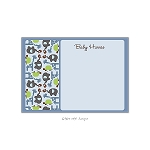 Zoo Animals Custom Thank You Card by Take Note Designs