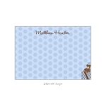 Blue Gifts Custom Thank You Card by Take Note Designs