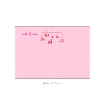 Pink Mobile Custom Thank You Card by Take Note Designs