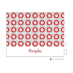 Bright Floral 5 Custom Folded Thank You Card by Stacy Claire Boyd