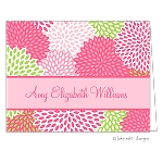 Summer Floral 2 Custom Folded Thank You Card by Take Note Designs