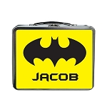 Bat Signal Custom Lunch Box