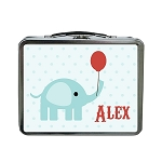 Circus Elephant Custom Lunch Box