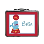 Circus Seal Custom Lunch Box