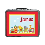 Circus Train Custom Lunch Box
