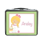 Easter Girl 2 Custom Lunch Box