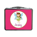 Fairy Girl Custom Lunch Box