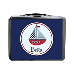 Sailboat Custom Lunch Box