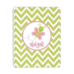 Butterfly Personalized Spiral Bound Notebook