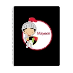 Knight 2 Personalized Spiral Bound Notebook