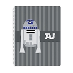 Galaxy Droid Personalized Spiral Bound Notebook