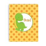 Stegasaurus Personalized Spiral Bound Notebook
