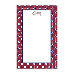 4th of July Custom Dots Notepad