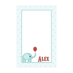 Circus Elephant Custom Dots Notepad