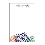 Daisy Floral Custom Dots Notepad
