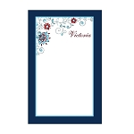 Floral Custom Dots Notepad