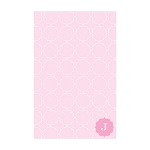 Pink Ornamental Custom Dots Notepad