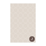 Tan Ornamental Custom Dots Notepad