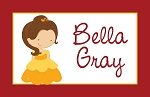Belle 2 Custom Placemat