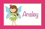 Fairy Girl Custom Placemat