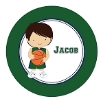Basketball Player 1 Custom Melamine Plate