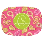 Multicolored Paisley 2 Custom Melamine Platter