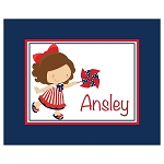 4th of July Girl Custom Puzzle