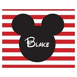 Mickey Striped Custom Puzzle