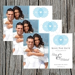 Our Initials Custom Save the Date