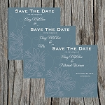 Sage Green Custom Save the Date
