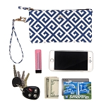 SCOUT Bid Day Blue Kate Wristlet