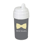 Bowtie 10 oz. Custom Spill Proof Sippy Cup