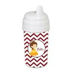 Chevron Belle 10 oz. Custom Spill Proof Sippy Cup